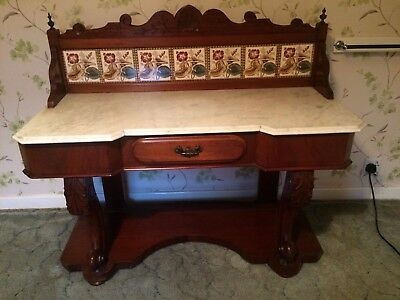 Washstand Marble Top
