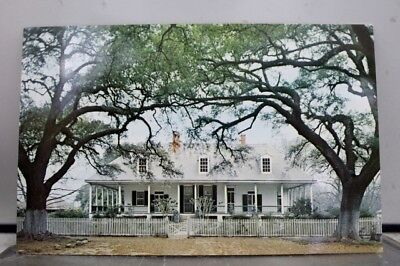 Louisiana LA Natchitoches Oakland Plantation Postcard Old Vintage Card View Post