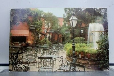 Louisiana LA New Orleans Pat O'Brien's Court Yard Postcard Old Vintage Card View