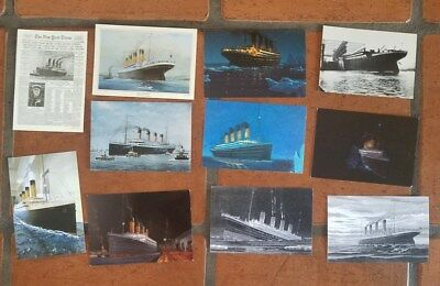Collection Of Titanic Postcards