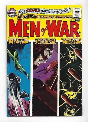All American Men Of War #111  Very Fine- 7.5!  Sweet Grey Tone Cover!  1965