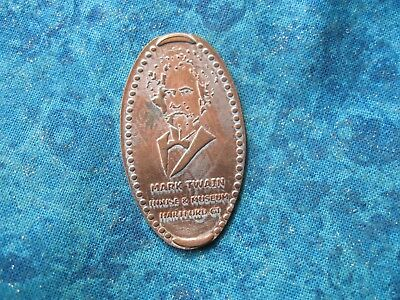MARK TWAIN HOUSE & MUSEUM CT Elongated Penny Pressed Smashed 1