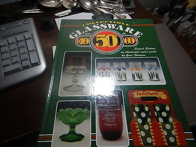 Antique reference book Collectible Glassware 40's 50's 60's by Gene Florence