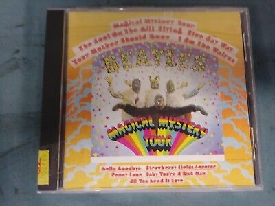 The Beatles Magical Mystery Tour (Cd, 1987) Emi Records Digitally Remastered Ac