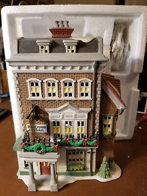 Dept 56 Crown and Cricket Inn