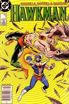 Hawkman (2nd Series) #7 1987 FN- 5.5 Stock Image Low Grade