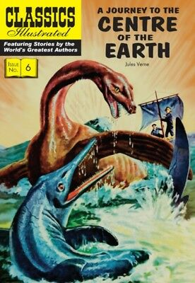 A Journey to the Centre of the Earth (Classics Illustrated) (Pape...
