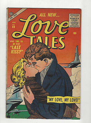 Love Tales 69 Silver Age comic 1956 10 cent issue 1956 Atlas Everett art