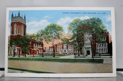 Louisiana LA Loyola University New Orleans Postcard Old Vintage Card View Post