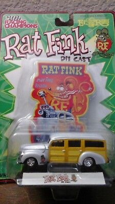 "Rat Fink Racing Champions Ed ""Big Daddy"" Roth - Die Cast Car RACING TEAM"