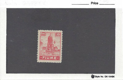 FIUME:10c Flag on Clock Tower (Sc 30) from 1919 set, M, small HR,very good cond.