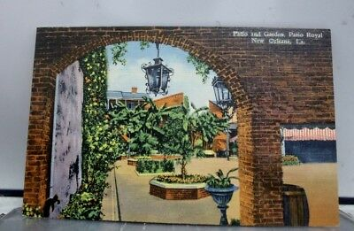 Louisiana LA Patio Royal New Orleans Postcard Old Vintage Card View Standard PC