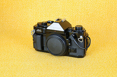 Canon A-1 mit DATA BACK A