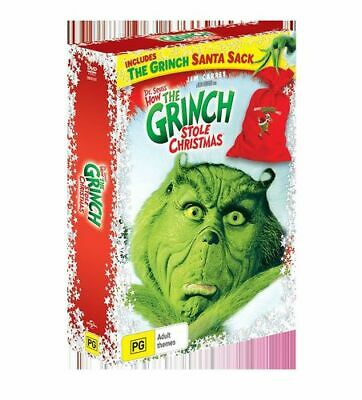 NEW Dr Seuss' How the Grinch Stole Christmas (2000) (Includes The Grinch Santa S