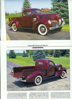 1939 STUDEBAKER COUPE EXPRESS 4 page Article