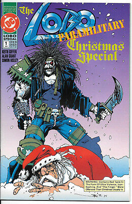 The Lobo Paramilitary Christmas Special #1 One-Shot  Simon Bisley Art!