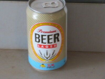 Premium. Beer Lager By Ti Mi. Real Beauty. Colorful. Tab