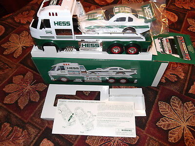 2016 Hess toy truck and dragster mint in box