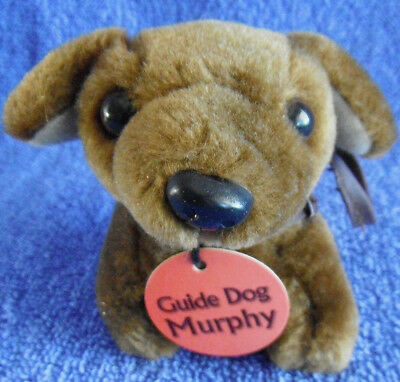 *1716a*    Guide Dog / Puppy with harness - Murphy - Plush - 8cm