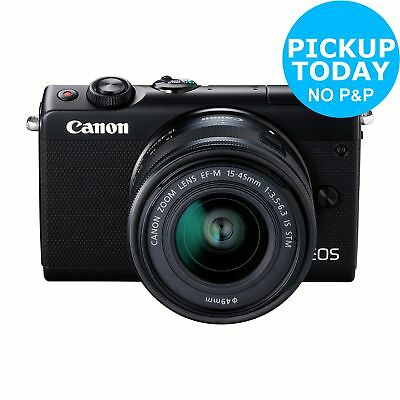 Canon EOS M100 24MP 3 Inch LCD Mirrorless Camera With 15-45mm Lens WiFi