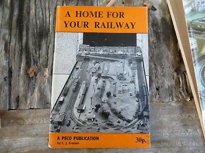 A Home For Your Railway  And Hornby Train Set Owners Manual 00 Scale