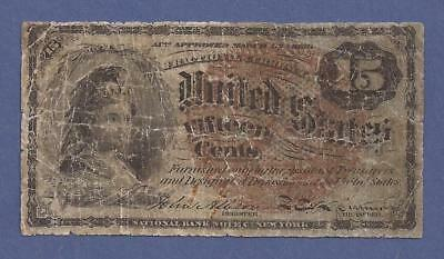 1869-75 4th Issue 15¢ Fractional Currency,Columbia Bust,Fr 1267,Very Good,Nice!