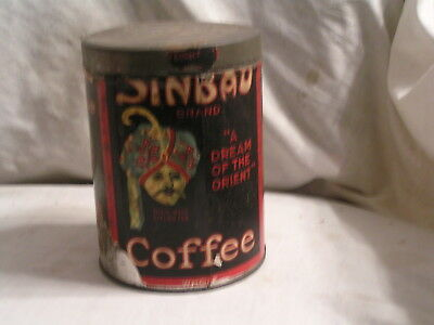 Sinbad Coffee  Tin By Schotten's Teas,coffees And Spices,st Louis,mo