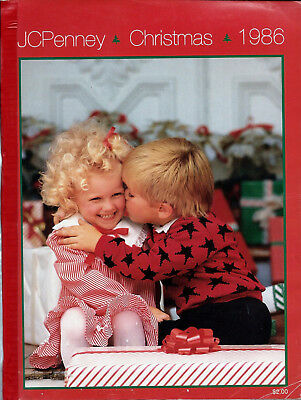 Jc Penney Wish Book 1986 Christmas Penneys Catalog