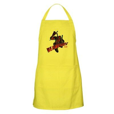 CafePress Deadpool Jumping Apron Full Length Cooking Apron (1269100790)