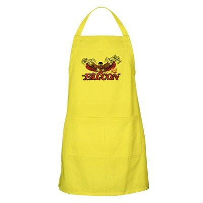 CafePress Vintage Falcon Apron Full Length Cooking Apron (1272062343)