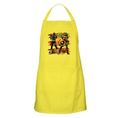 CafePress Captain America And Nick Fury Apron Cooking Apron (1274477504)