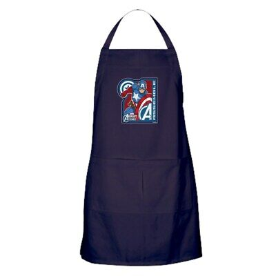 CafePress Captain America Assemble Kitchen Apron (1272956422)