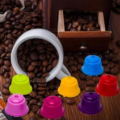 7 Colors Refillable Coffee Capsules Reusable Cup Filter for Nescafe Dolce Gusto