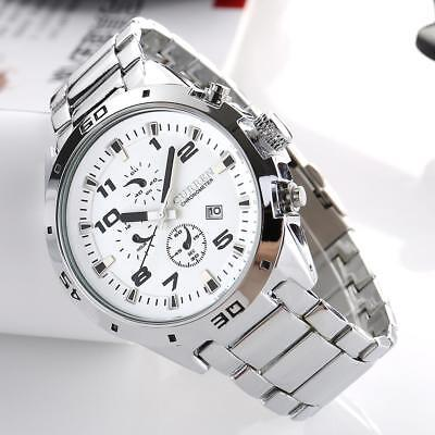 CURREN  Luxury Men Watches Quartz Analog Chronograph Dial Waterproof Wristwatch