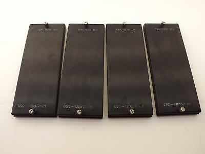 Lot of 4  GSC-120617-R1, T2407829 Chip IC Adujustable Matrix Tray T37002