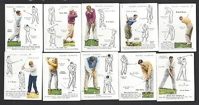 Player - Golf (Overseas Issue) - 19 Cards