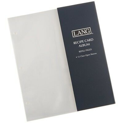 Open Sleeve Recipe Album Refill Pages, Journals and Housewares by Lang Companie