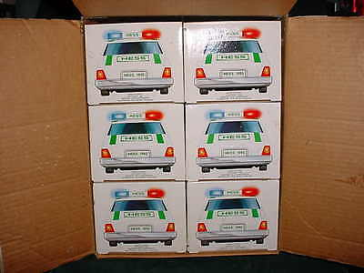 93 Christmas Xmas  Collectable Trucks 1993  Hess Patrol Car Toy Truck From Case