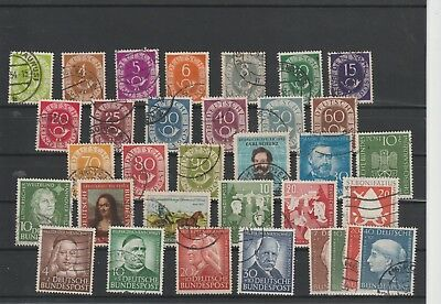 West Germany , good range of used sets, good years, cat in excess €300