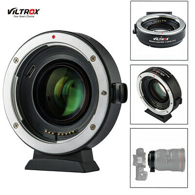 Viltrox EF-EOS M2 Auto Focus Lens Mount Adapter 0.71X for Canon EF Lens to EOS