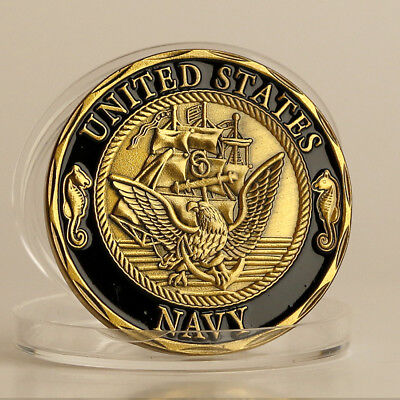 America Navy commemorative coins Poseidon Relief Commemorative coin