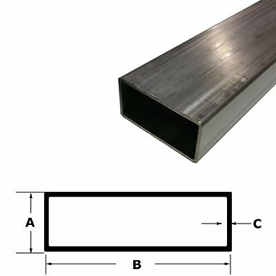 """304 Stainless Steel Rectangle Tube 1"""" x 2"""" x 24""""  (.120"""" Wall)"""