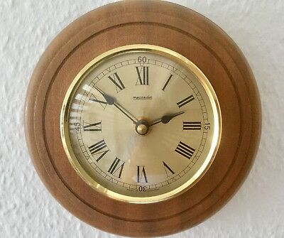 ' Mercedes Quartz Wall Clock - Working With New Battery