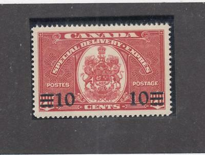 CANADA # E9 VF-MNH 10cts SURCHARGED SPECIAL DELIVERY CAT VALUE $21+