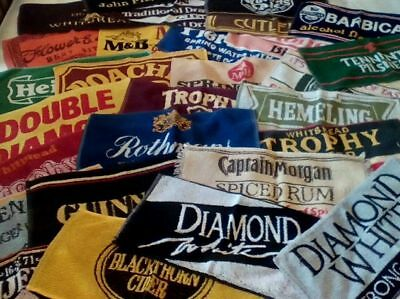 Vintage Bar Towel Beer Cloths Mats Retro Mancave Pub Lager Ale Bitter Brewery