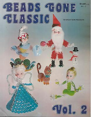 Beads Gone Classic Vol. 2 - Vintage Beading Book Trees Figurines