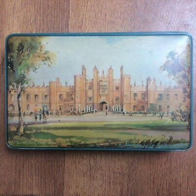 Hampton Court. Palm Toffee Tin. 1950