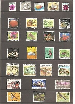 Singapore  27  Good  Top Quality Fine Used  Stamps     07