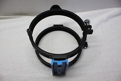 """Meade Clamp Ring Pair for 6-1/4"""" OD  Reflecting Telescope Tube  Vixen Dove Plate"""