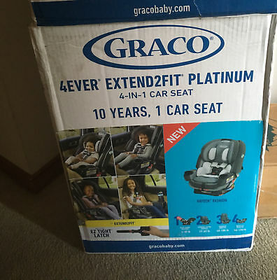 Gracco 4Ever Extend2Fit Platinum 4-in-1 Car Seat  Color:Hayden